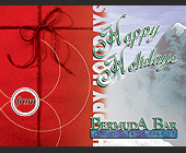 Happy Holidays from Bermuda Bar - 1397x1064 graphic design