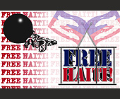 Free Haiti - Political Graphic Designs