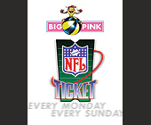 NFL Sunday Ticket - tagged with miller lite logo