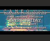 Cameo Theater Complimentary Pass - Nightclub