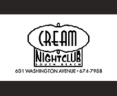 Cream Nightclub VIP Pass - Club Cream Graphic Designs