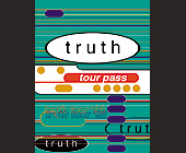 Truth Tour Pass - Tallahassee Graphic Designs