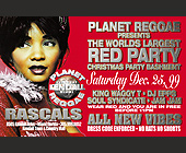New Year's Eve at Rascals Kendall - tagged with planet reggae