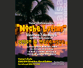 Noche Latina at Victors Cafe - tagged with 7pm