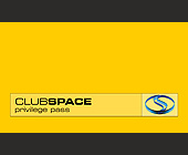Club Space Privilege Pass Reduced Admission - Bars Lounges
