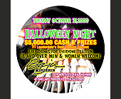 Halloween Night at Baja Beach Club - 1350x1350 graphic design