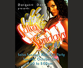 Salsa Sundays at Salsa Lovers Dance Studios - Salsa Graphic Designs