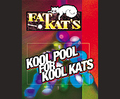 Fat Kats Pool Hall - tagged with budweiser logo