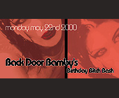 Back Door Bamby Birthday Bash at Crobar - tagged with back door bamby