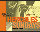 Hercules Sundays at The Living Room - The Living Room Graphic Designs