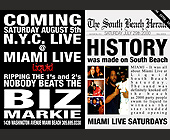 Biz Markie Live at Liquid - tagged with miami live