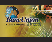 BancUnion Corporate Gold Card - tagged with dollar-bill