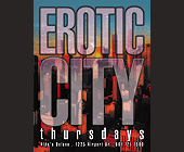 Erotic City Thursdays at Aldo's Delano - California Graphic Designs