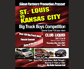 Big Boys Truck Competition at Club Liquid - tagged with special invited guests