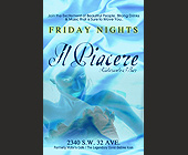 Friday Nights at Il Piacere - tagged with 7pm