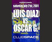 Luis Diaz vs Oscar G at Club Space - tagged with dj radamas