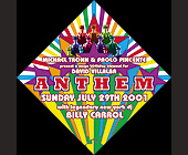 Anthem with Legendary New York DJ Billy Carrol - created July 19, 2001