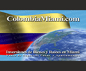 Colombia Miami Inversiones de Bienes y Raices en Miami - created September 2001