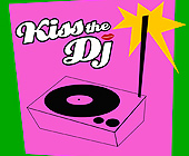Kiss the DJ at Pure Lounge - Pure Lounge Graphic Designs