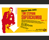 Tom Stephan Super Chumbo - tagged with k