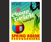 Cheap Trick Thursdays at State - Event Flyer Graphic Designs