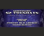 Southside $2 Tuesdays  - 1050x2550 graphic design
