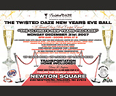 Twisted Daze New Years Eve Ball - Raleigh Graphic Designs