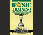 Basic Training Personal Training Solutions - Fitness Graphic Designs