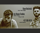 Ryan Neitznick Ice House Studios - Pittsburgh Graphic Designs