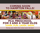 Coming Soon to Hampton Falls!  - Childcare Graphic Designs