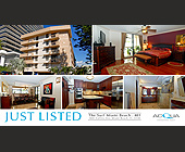 Just Listed The Surf Miami Beach - tagged with 11 x 6