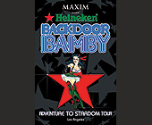 Back Door Bamby Ivar - California Graphic Designs