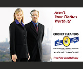 Cricket Cleaners - Fashion Graphic Designs