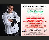 Massimiliano Lozzi TV Show for Italian Cooking - Media and Communications Graphic Designs