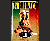 Cinco De Mayo Saturday - Singles Graphic Designs