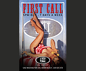First Call at Felt - Billiard Graphic Designs
